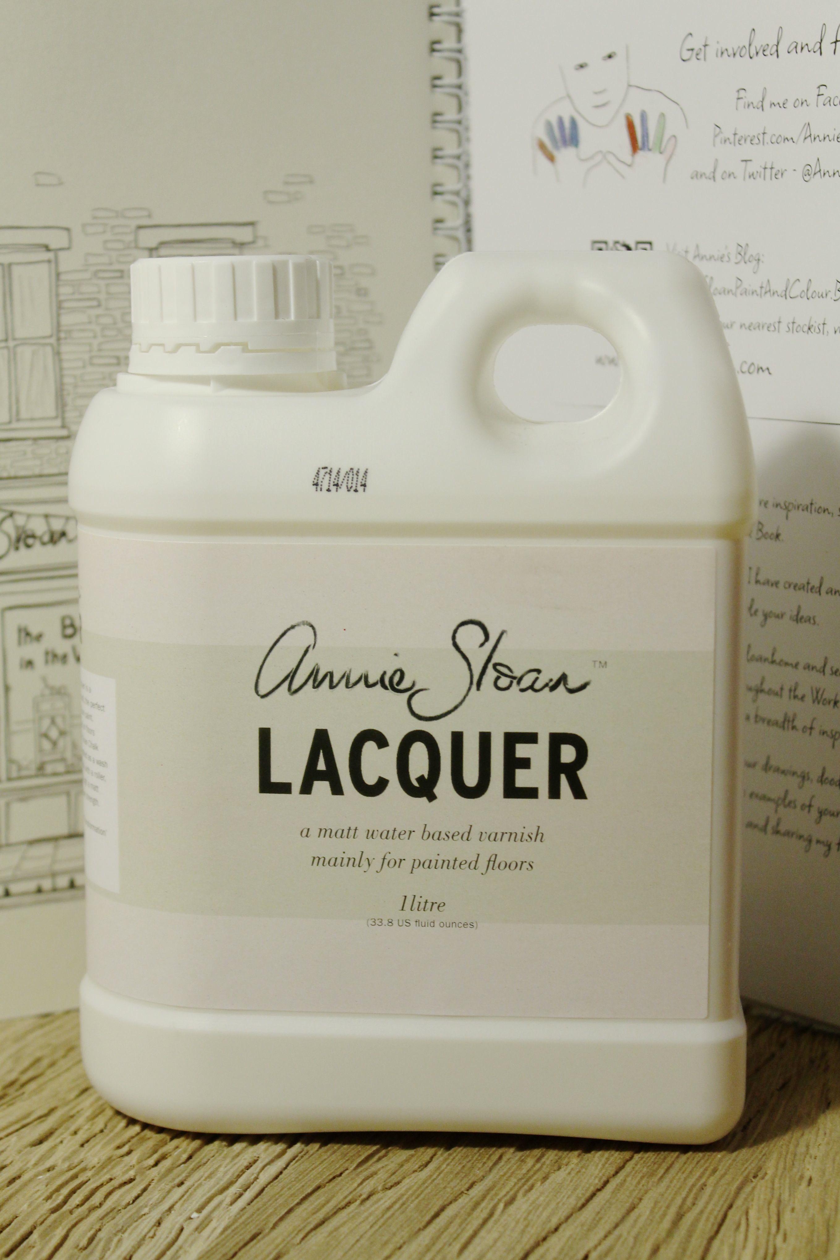 Vernice Chalk Paint Annie Sloan vernice trasparente 1 lt. - all white